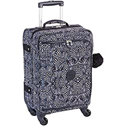 Kipling Cyrah S Equipaje de Mano, 55 cm, 37.5 Liters, (Soft Feather)
