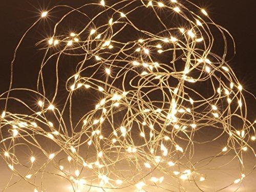 LED-Drahtbüschel, 100 warmweiße LEDs, IP44 -