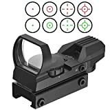 Best 22 Rifle Scopes - 1x22x33 21mm Air Rifle Multi Reticle 4 Red Review