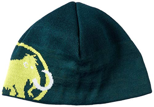 Mammut Mütze Tweak Beanie, Dark Teal-Canary, one Size