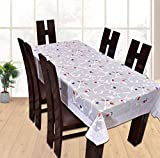 #4: Yellow Weaves™ Dining Table Cover Waterproof Floral 6 Seater 60X90 Inches( Exclusive Design)