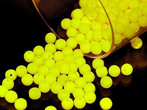 100-pezzi-ceco-perle-pressate-di-vetro-estrela-neon-uv-active-tondo-4-mm-neon-yellow