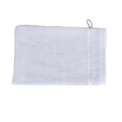 Jules Clarysse UR-ROYA1-2800-01CLAR1 Gant de Toilette Coton Gris Clair 21 x 15 x 1 cm - Lot de 12