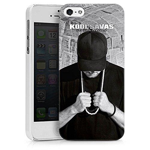 Apple iPhone 7 Hülle Case Handyhülle Kool Savas Fanartikel Merchandise Tot oder Lebendig - Album Artwork Hard Case weiß