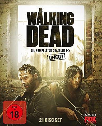 The Walking Dead - Staffel 1-5 Box - Uncut [Blu-ray]