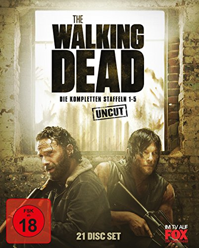The Walking Dead - Staffel 1-5 Box - Uncut [Blu-ray]