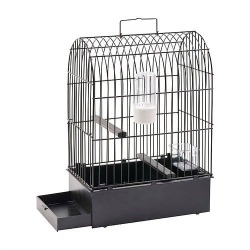 Pet Ting Vogelkäfig, klein–Reisekäfig–24x 16x 36–sehr robust