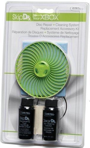 Skip Doctor Xbox360 Zubehör Paket (inkl. Flexiwheel, Gleitmittel, Tuch, Filz, Reinigungslösung)