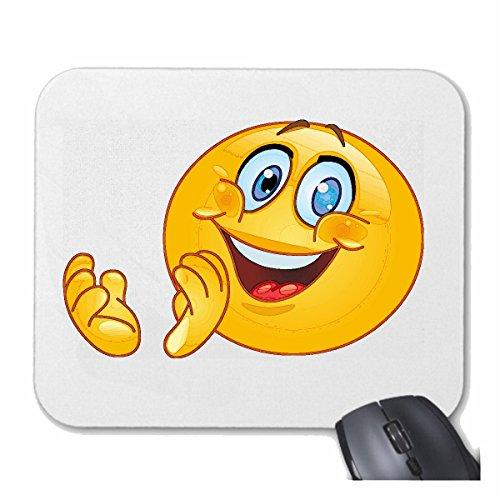 tapis-de-souris-mousepad-mauspad-merry-smiley-la-smack-applaudir-smileys-smilies-android-iphone-emot