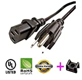 AC Power Cord Cable for NEC AccuSync LCD72VX 17' LCD - 12ft