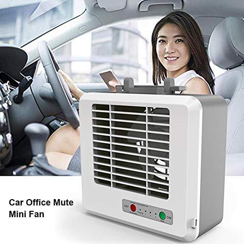 lossomly Condizionatore Portatile 3 velocità Raffreddatore d'Aria Evaporativo USB Ventilatore per Casa Auto Campeggio charmingly