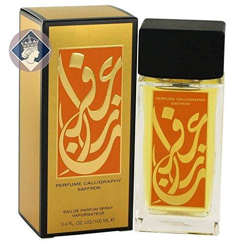 calligraphy saffron de aramis