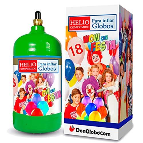 Bombonas Helio Desechable 0.145m3 sin Globos