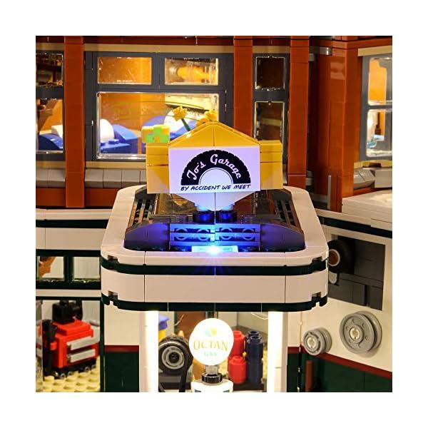 LIGHTAILING Set di Luci per (Creator Expert Corner Garage) Modello da Costruire - Kit Luce LED Compatibile con Lego… 4 spesavip