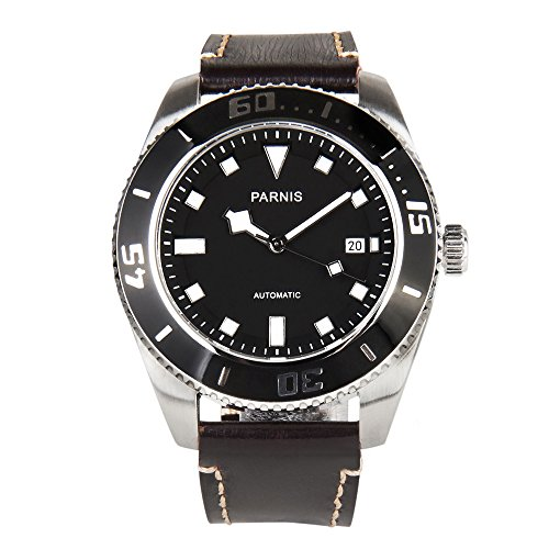 whatswatch PARNIS 43mm Miyota 821dive-style 10ATM Automatik Uhr pa-011116