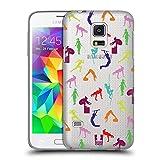Head Case Designs Regimen Fitnessbegeistert Ruckseite Hülle für Samsung Galaxy S5 Mini