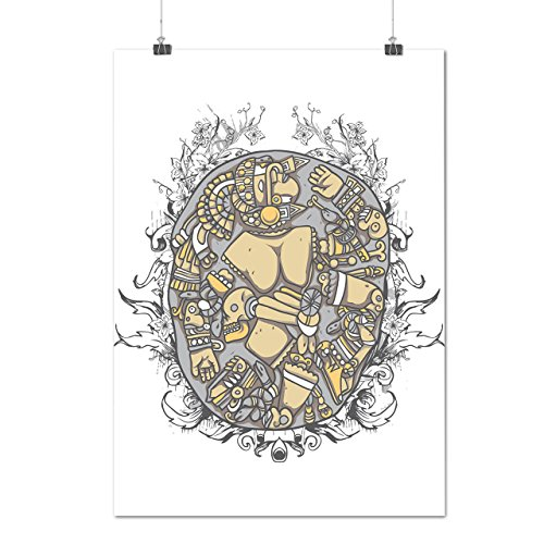 Wellcoda Mosaic Art Random Fashion Death Yard Matte/Glossy Poster A0 (119cm x 84cm)