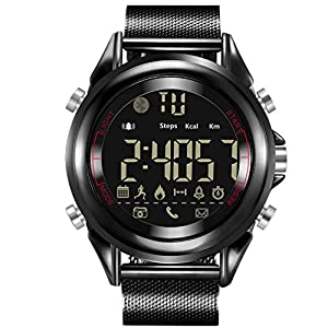 Smartwatch, Waterproof Watch, Sports Watch, Impressive Smartwatch with Handy Features, for Android & iOS