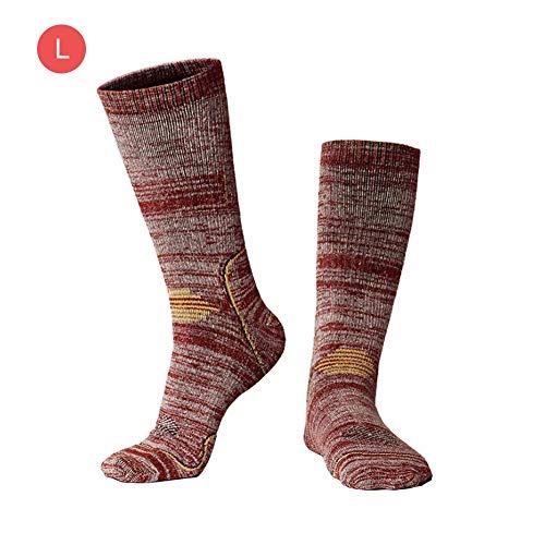 Jannyshop Skisocken Winter Warme Socke Sport Wandern Socken Atmungsaktive Snowboard Socken Outdoor 1 Paar | 00774536996358