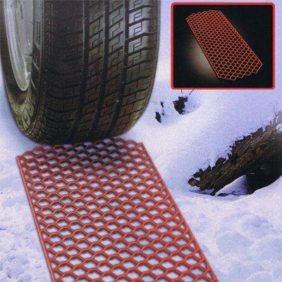 PAIR of Heavy Duty Polymer SUMMIT SNOW GRABBER Car Anti Slip Mats