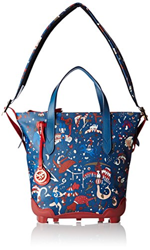 Piero Guidi Magic Circus Be Magic Borsa a Tracolla, 31 cm, Blu Oltremare