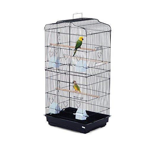 PawHut Large Metal Bird Cage for...