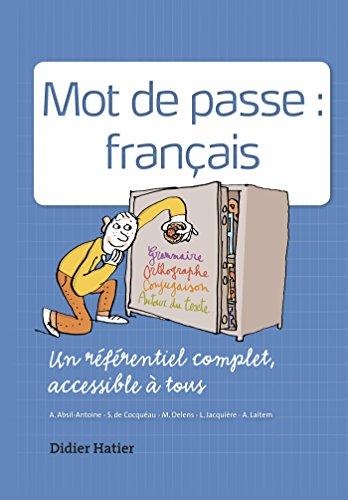 Mot de passe français par Collectif