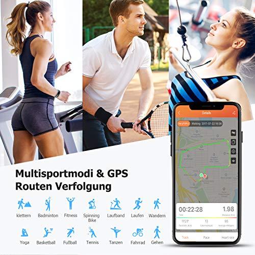 Letsfit ID130PlusHR Fitness Tracker - 3