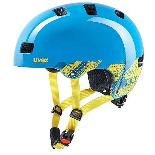 Uvex Kinder Fahrradhelm Kid 3, Blackout Blue, 51-55, 4148190715