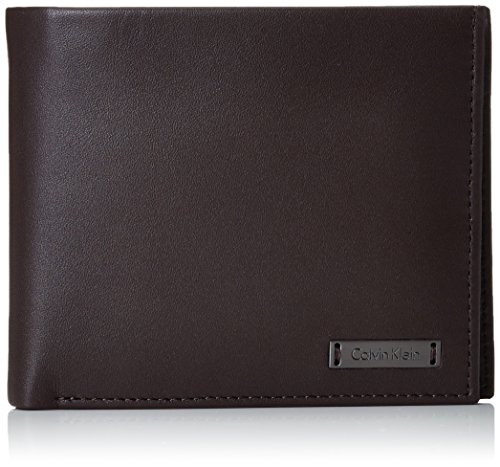 Calvin Klein Jeans Herren ANDR3W 10CC+Coin+Pass Geldbörsen, 11x13x3 cm Braun (TURKISH COFFEE 201)