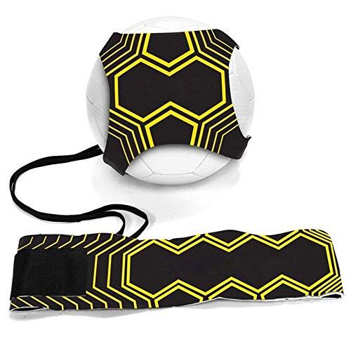 Kit per l\'Allenamento Trainer da Calcio allenamento per calciare corda dell\'istruttore di calciogettare le sole attrezzature per la pratica Regolabile per Bambini e Adulti Adatto per Ball 3, 4 e 5