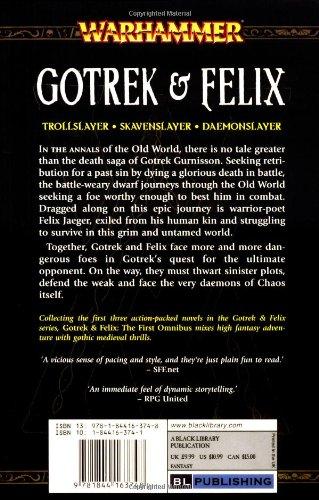 Gotrek and Felix, the First Omnibus (Warhammer: Gotrek and Felix)