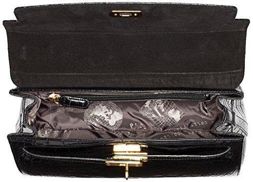 Picard Weimar Handtasche Leder 32 cm Schwarz (Schwarz)