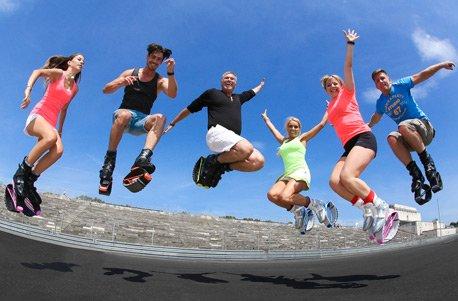 Geschenkgutschein: Kangoo Jumps Fitness Programm für 2 (Jump Programm)