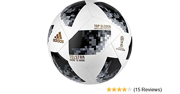 592669fdd7 Buy Adidas Men's Wc 18 Ball Afa Football(5, White and Black) Online at Low  Prices in India - Amazon.in