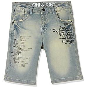 Gini and Jony Boys' Regular Fit Shorts