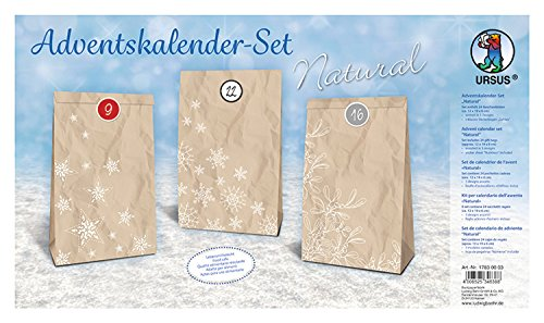 "ADVENTSKALENDER-SET ""NATURAL"""