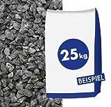 Basaltsplitt Eifelschwarz 8-11mm 25kg Sack