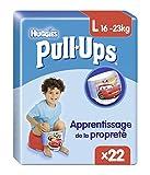 Huggies Pull-Ups - Pañal (Niño, Pañal desechable, 16 kg, 23 kg, Azul, Velcro)