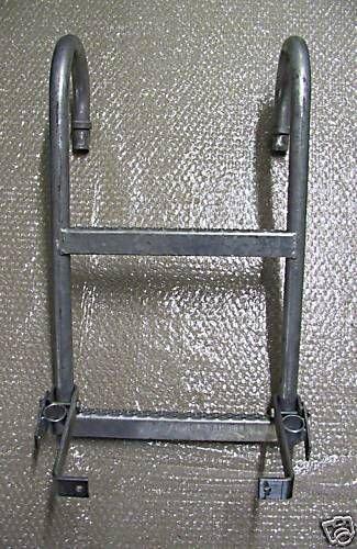 WAMO Aufstiegsleiter 2-stufig für Anhänger, Transporter, LKW