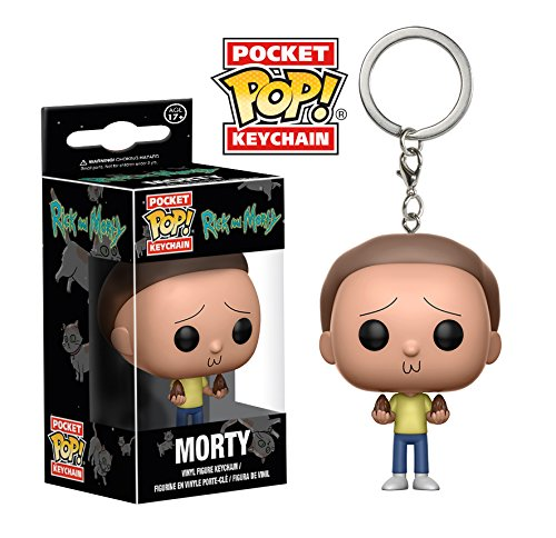 Funko Pop llavero Morty (Rick & Morty) Funko Pop Rick & Morty