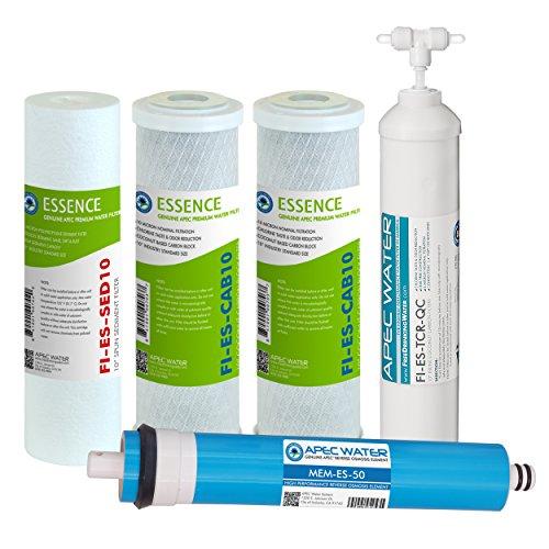 apec filter-max-es5050GPD Hohe Kapazität Komplettes Ersatz Filter Set für Essence Serie Umkehrosmose Wasser Filter System (Umkehrosmose-system Serie)