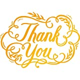 Ultimate Crafts Thank You Hotfoil Stempel, Metall, grau, 22.8 x 9,8 x 0,7 cm