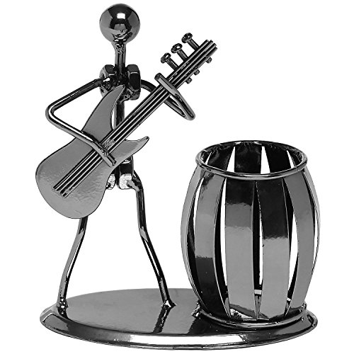 alohha-creative-desktop-accessories-multipurpose-metal-pencil-holder-guitar-o1