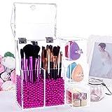 Lifewit Organizer con Cassetti per Cosmetici Beauty Case All in One per Pennelli Rossetti Cipria Smalti con Coperchio