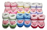 #2: Camey Cotton Baby Socks (Ca0081Cis -Multicolour -3 to 6 Months) (Pack Of 6)