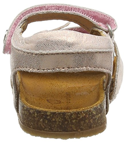 Bellybutton Sandale, Sandales ouvertes fille Rose - Pink (rosa)