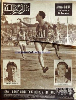 Livre pdf t l chargement miroir sprint no 220 du 28 08 1950 athletisme alfredo binda de - Cuisine et sante saint gaudens ...