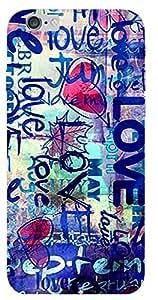 SEI HEI KI Back cover for Apple I Phone 6S-Multicolor
