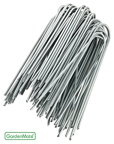 gardenmate-100x-6-150mm-u-shaped-garden-securing-pegs-galvanized-ideal-for-securing-weed-fabric-land